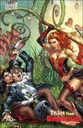 Tales from Wonderland Queen of Hearts vs. the Mad Hatter Vol 1 1-D