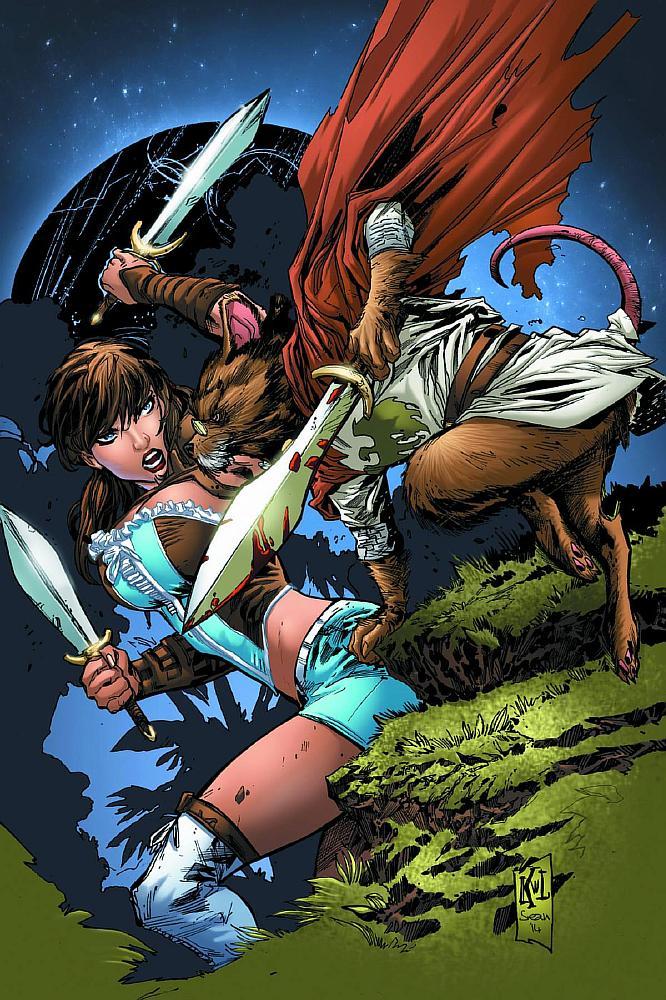 Grimm Fairy Tales Presents Oz Vol 1 6 - Zenescope