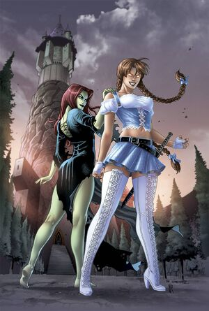 Grimm Fairy Tales Presents Oz Reign of the Witch Queen Vol 1 5-PA