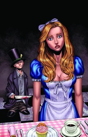 Grimm Fairy Tales Presents Wonderland Through the Looking Glass Vol 1 2-PA