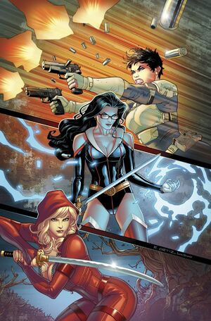 Grimm Fairy Tales Presents Realm War Vol 1 12-PA