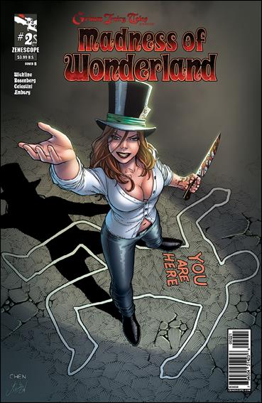 Madness of Wonderland tpb  ~  Zenescope ~ entire series Grimm Fairy Tales
