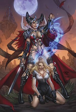 Grimm Fairy Tales Presents White Queen Vol 1 2-PA