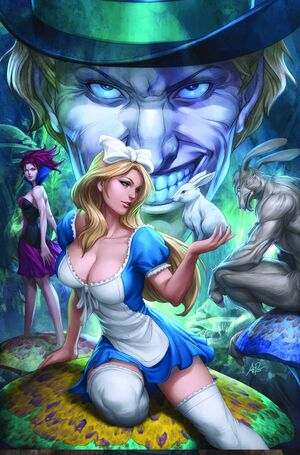Grimm Fairy Tales Presents Alice in Wonderland (TPB) Vol 1 1-PA