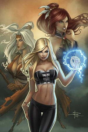 Grimm Fairy Tales Presents Coven Vol 1 4-PA