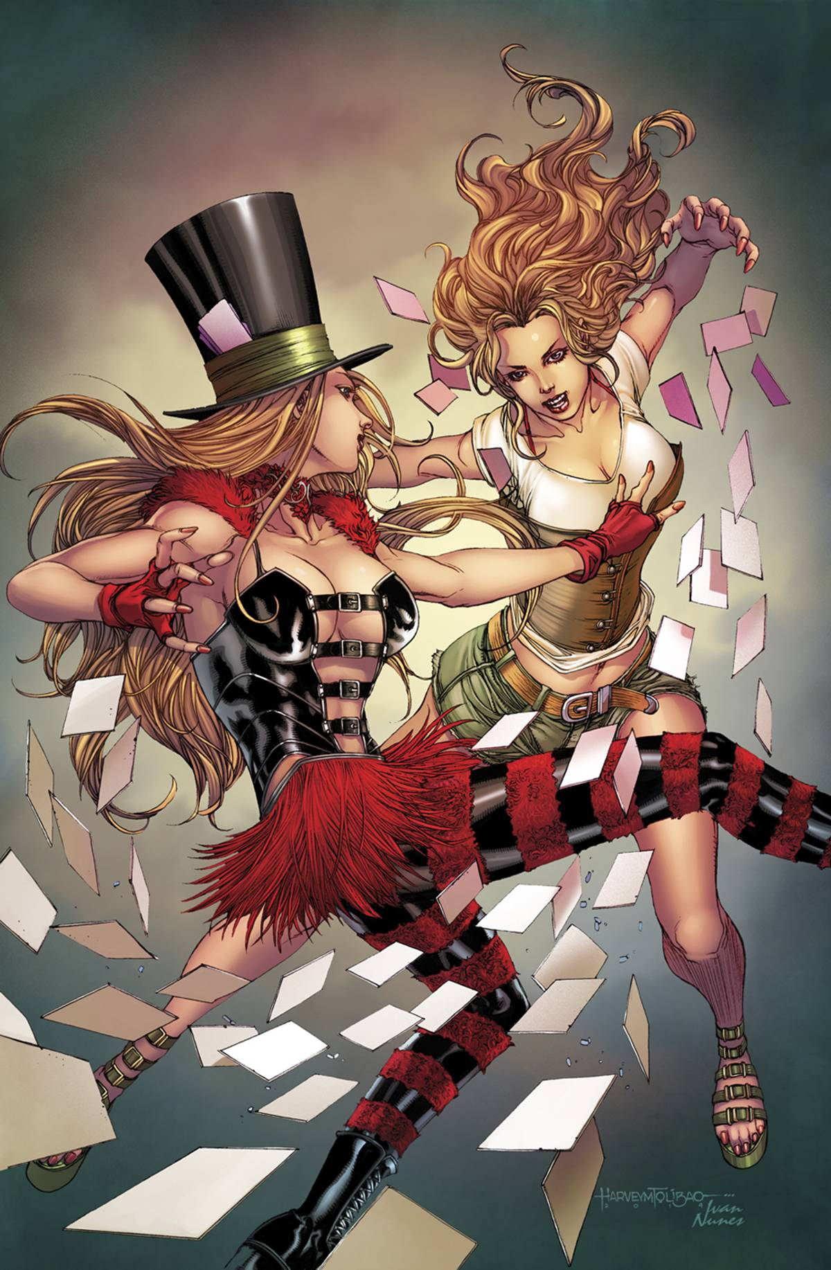 Grimm Fairy Tales Presents Wonderland Vol 1 31 | Zenescope