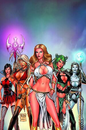 Grimm Fairy Tales Presents Bad Girls Vol 1 1-PA