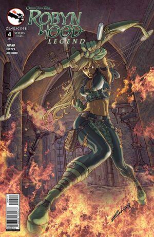 Grimm Fairy Tales Presents Robyn Hood Legend Vol 1 4