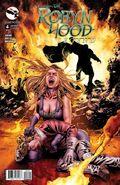 Grimm Fairy Tales Presents Robyn Hood Legend Vol 1 4-B