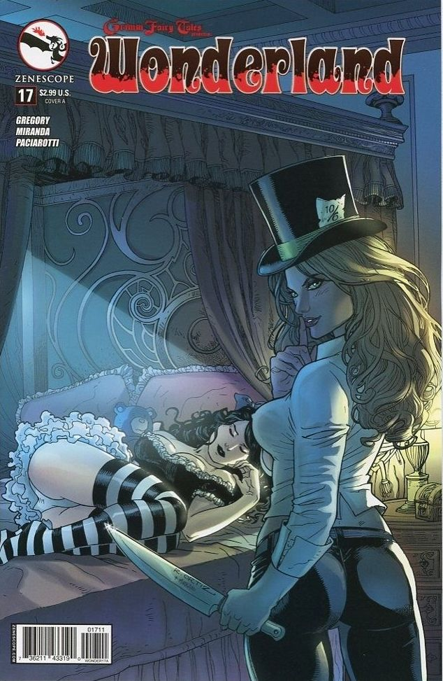 Grimm Fairy Tales Presents Wonderland Vol 1 17 | Zenescope