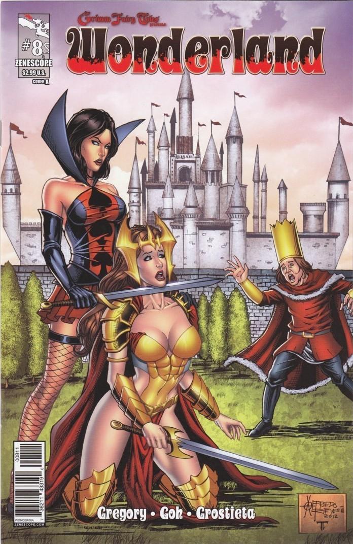 Grimm Fairy Tales Presents Wonderland Vol 1 8 | Zenescope