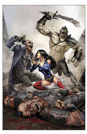 Grimm Fairy Tales Presents Realm War Vol 1 5-PA