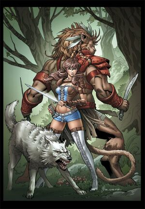 Grimm Fairy Tales Presents Oz Reign of the Witch Queen Vol 1 4-PA