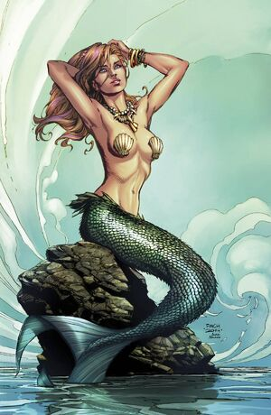 Grimm Fairy Tales Presents The Little Mermaid Vol 1 1-PA