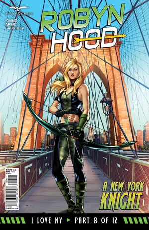Grimm Fairy Tales Robyn Hood I Love NY Vol 1 8