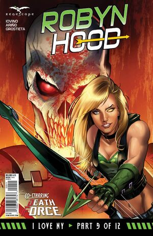 Grimm Fairy Tales Robyn Hood I Love NY Vol 1 9