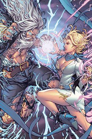 Grimm Fairy Tales Presents Godstorm Hercules Payne Vol 1 5-PA