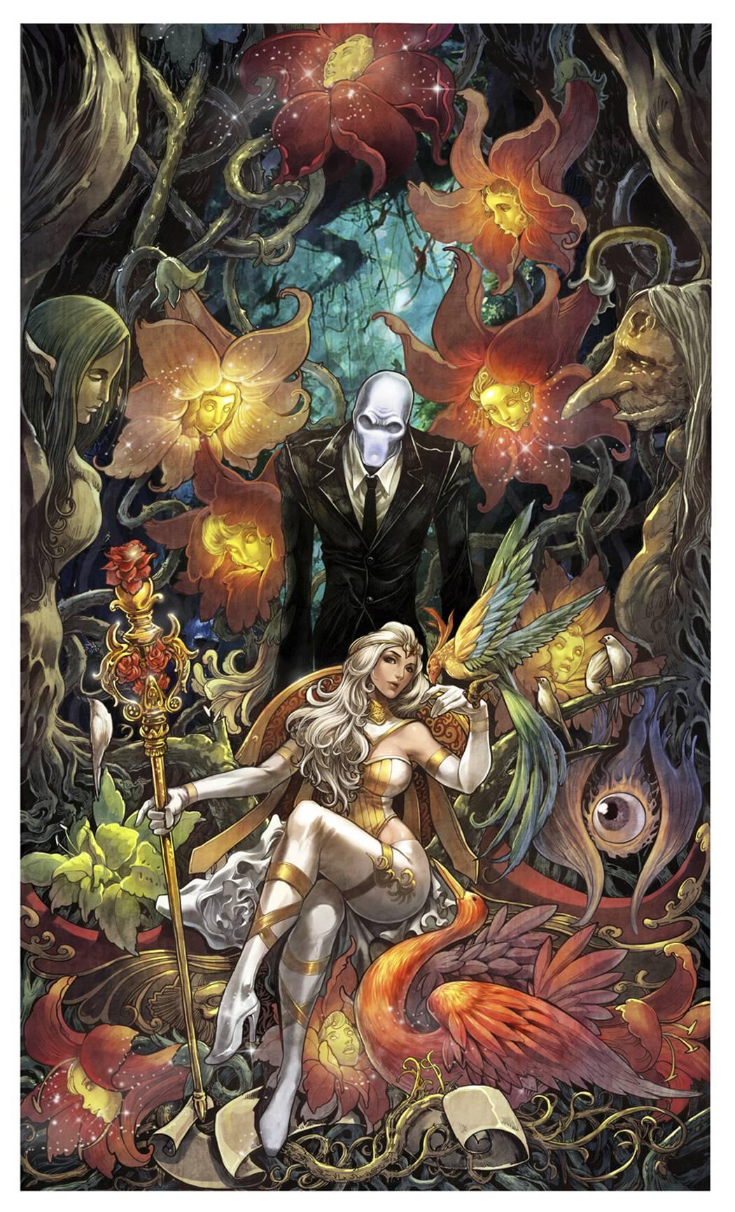 Grimm Fairy Tales Presents Wonderland Vol 1 27 | Zenescope ... |Grimm Fairy Tales Original Art
