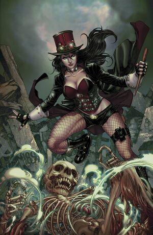 Grimm Fairy Tales Presents Helsing vs Dracula Vol 1 3-PA