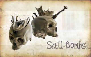 Wep skull bombs