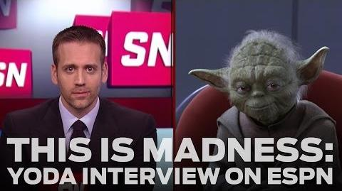 Yoda Kicks Off Star Wars Tournament with ESPN Interview