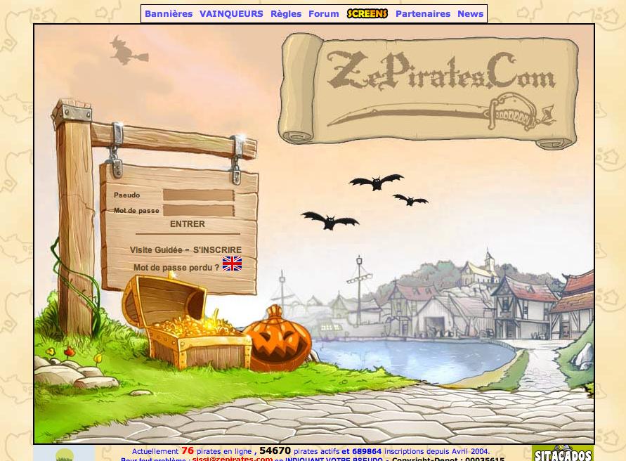 Acceuil halloween