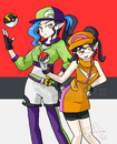 Farren and Alexis Pokemon