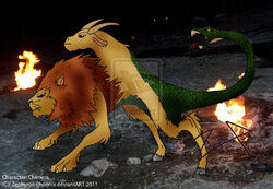 Chimera the lycian monster by zephyros phoenix-d3f256w