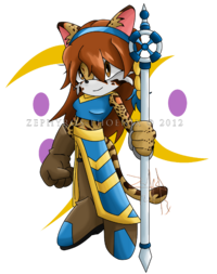 Raphaella the ocelot