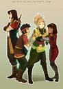 Commission rai takumi sati and hiro by solkorra-db3nzp5
