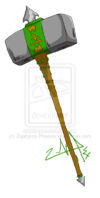 Gaia hammer by zephyros phoenix-d4a997s