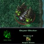 Geyserblocker
