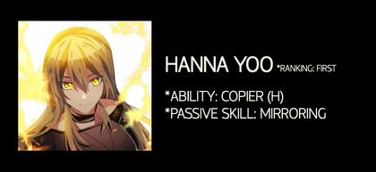 Hanna Yoo Stats