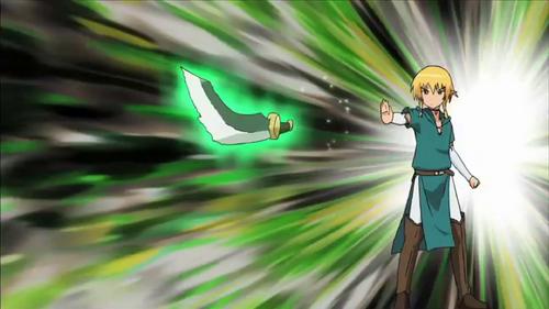 Season 4 Arie moving dagger