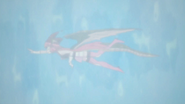 Bahamut trying to swim