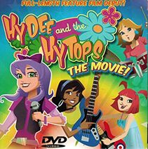Hydee and the Hytops The Movie (2012) DVD cover