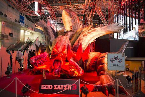 TGS2018 噬神者3 Godeater