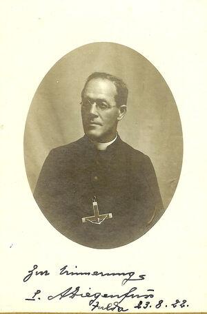 Pater Aloisius Ziegenfuss