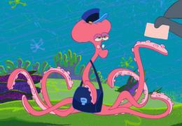 Zig & Sharko - Octopus Masseur Mailman