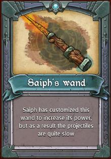 Saiph's Wand