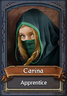 Carina the Apprentice