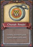 Cheetah Amulet