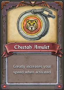 Cheetah Amulet