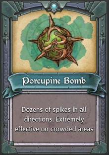 Porcupine Bomb