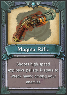 Magma Rifle
