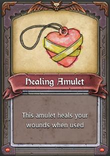Healing Amulet
