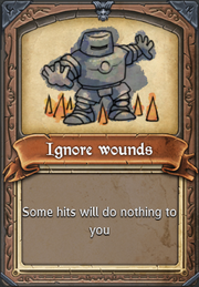 Ignorewounds