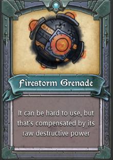 Firestorm Grenade