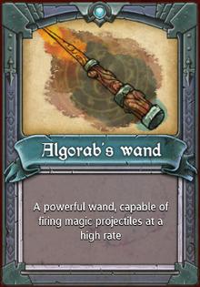 Algorab's Wand