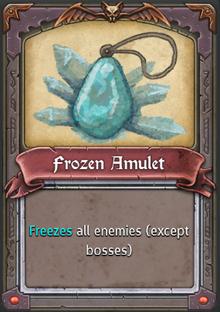 Frozen Amulet